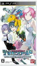 Used PSP Digimon World Re: Digitize Japan Import (Free Shipping)、