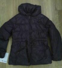 lotto 936 piumino giacca bimba bambinacappotto viola 128 cm mis.7/8 anni