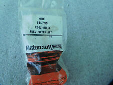 { NOS Fuel Filter MOTORCRAFT FG-795