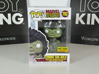 FUNKO POP! MARVEL ZOMBIES ZOMBIE SHE-HULK #792 HOT TOPIC EXCLUSIVE