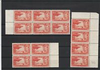 Cayman Islands Mint Never Hinged Stamps Blocks ref R 18356