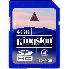 Kingston 4gb SDHC Class 4 Memory Card
