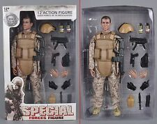 12'' Army Desert ACU Shooter Soldier Ranger Figures 1/6 Scale Military Model Toy