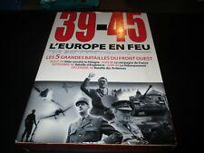 "COFFRET 5 DVD ""39 - 45 : L'EUROPE EN FEU"" serie documentaire - guerre"