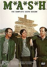 M*A*S*H - COMPLETE SIXTH SEASON 6 - BRAND NEW & SEALED R4 DVD BOX SET (MASH)