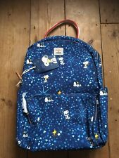 NEW Cath Kidston Snoopy Rucksack Backpack Gift Women's Hand Luggage Handbag Case