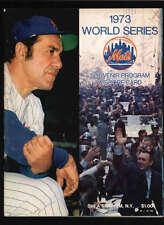 1973 NEW YORK METS OFFICIAL WORLD SERIES PROGRAM  LOT839