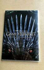 Game of Thrones 8 DVD  4-Disc New & Sealed