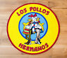 TEPPICH BREAKING BAD LOS POLLOS HERMANOS FUßMATTE 90X90 CM SERIE TV 1