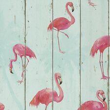 Flamingo Wallpaper by Barbara Becker - Aqua 479706