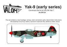 Valom 1/72 Yakovlev Yak-9 Early Series Conversion Set # DSV04