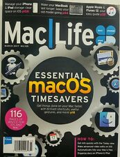 Mac Life March 2017 Essential Mac OS Timesavers Shortcuts Tips FREE SHIPPING sb