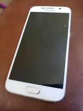 New listing Galaxy S6 White Color 32Gb White Pearl Verizon for Parts with new sim card