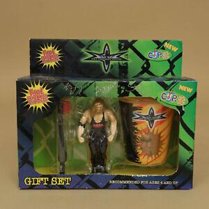 Kevin Nash - WCW Toothbrush Figure & Goldberg Cup Gift Set - Vintage Wrestling
