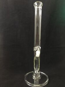 20 Inch Straight 44mm Thick Water Pipe Bong Clear
