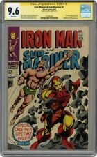 Iron Man and Sub-Mariner #1 Signed Stan Lee CGC 9.6 SS 1575282001