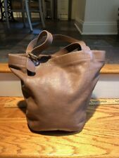 COACH XL Vintage Tan Leather Feedbag HUGE Soho Carryall Shoulder Tote #4082 Bag