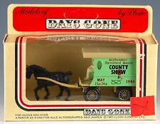 Lledo Days Gone Staffordshire Agricultural County Show Horse Drawn Wagon England