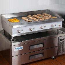"48"" Natural Gas Commercial Restaurant Kitchen Countertop Griddle"