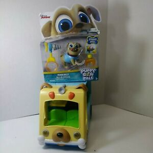Disney Junior Puppy Dog Pals Awesome Care Bus Playset On The Go Play