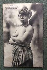 CPA. Afrique Occidentale. Femme GAMBARI. 1332. Ethnique.