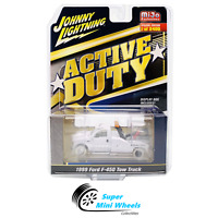 Johnny Lightning White Lightning 1999 Ford F-450 Police Tow Truck CHASE !