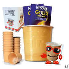 Nescafe Gold Blend Decaffeinated Coffee In Cup Drinks for 73mm Vending [25 cups]
