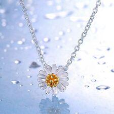 1PC Fashion Daisy Necklace Pendant Sunflower Pendant Women Without Chain Pendant
