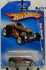 FORD ROADSTER DEUCE BLACK FLAMES 144 ROD 2010 BF GOODRICH TIRES HW HOT WHEELS