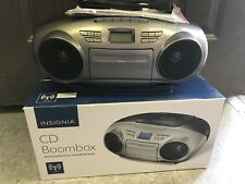 Insignia Cd Boombox With Tape Player