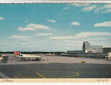 1969 Montreal Airport Canada Photo Postcard L'Aeroport used
