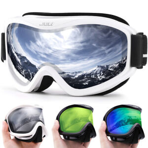 Ski Goggles Double Layers Lens Anti-fog Professional Glasses  Men Women Skiing
