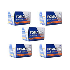 5 Rolls x FOMAPAN 200 Profi Line Creative 135 35mm 36exp Black & White Film FOMA