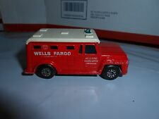 VTG 1978 MATCHBOX SUPERFAST NO 69 WELLS FARGO ARMORED TRUCK LESNEY ENGLAND