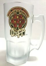 The Simpsons 'The Seven Duffs' Duff Beer Glass Heavy Stein Mug Downpace 2002
