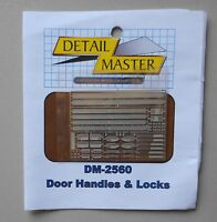DOOR HANDLES & LOCKS 1:24 1:25 DETAIL MASTER CAR MODEL ACCESSORY 2560