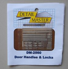 DOOR HANDLES & LOCKS 1:24 1:25 DETAIL MASTER CAR MODEL ACCESSORY 2560