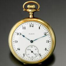 ELGIN GOLD POCKET WATCH CA1920 | SIZE 12 14K GOLD CASE