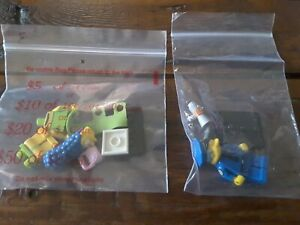 2 Lego The Simpsons Collectible Minifigures series 1 marge wiggum   3 + 15