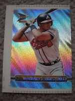 Andruw Jones Braves 2000 Pacific Prism RARE JUMBO UNCROPPED PROOF CARD #11