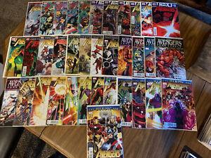 Avengers (2010) #1-34 12.1 24.1 Annual #1 NM Heroic Age