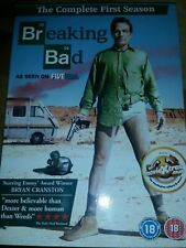 BREAKING BAD COMPLETE SEASON ONE (SERIES 1)*DVD*BRYAN CRANSTON*3 DISC*SEALED NEW