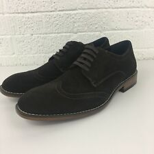 Joseph Abboud Evan Mens Size 10 Brown Suede Wingtip Dress Shoes NIB $150