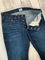 Bonobos Jeans 33x34 Straight Fit w/ Cone Denim