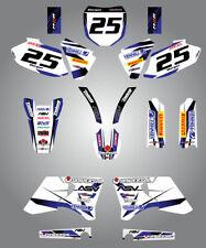 Full Custom Graphic Kit - STORM - Yamaha YZF 426 1998 - 2002 stickers decals