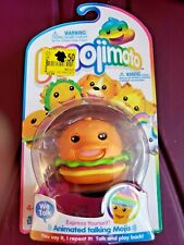 Mojimoto Animated Talking Mojis Cheeseburger New