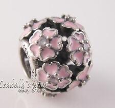 PRIMROSE MEADOW Authentic PANDORA Pink ENAMEL Floral Charm 791488EN68 NEX w BOX