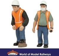 Bachmann 47-403 Lineside Workers C Figures (Pack of 2) O Gauge