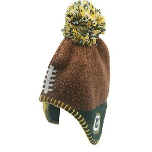 Green Bay Packers Official NFL Infant 12-24 Months Pom Knit Winter Hat Cap New