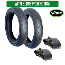 Slime Protected Tyre and Inner Tube Set  for Maxi Cosi Mura  FREE 1ST CLASS